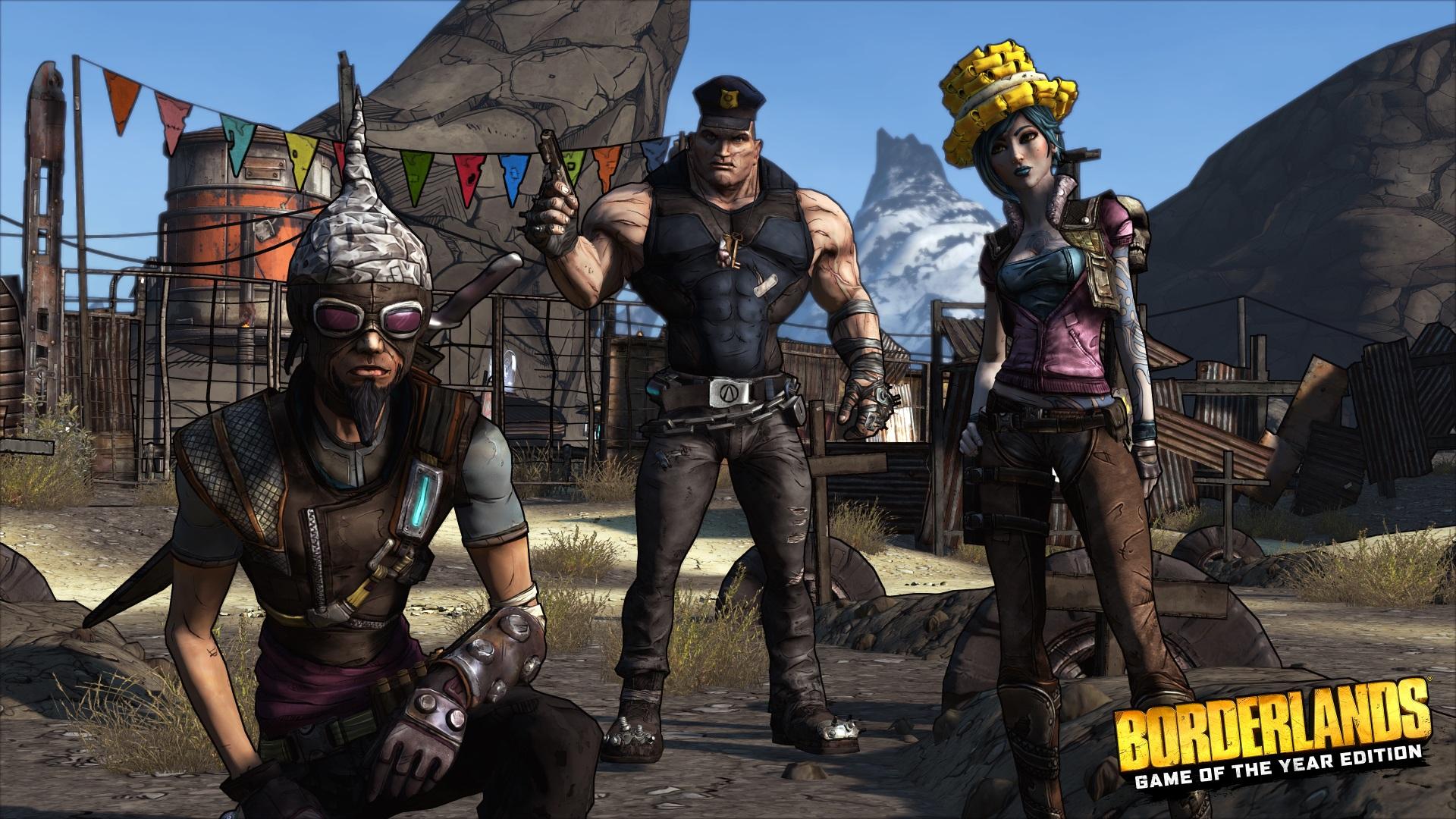 Die Borderlands GOTY Enhanced-Edition bietet auch neue Köpfe der Charaktere.