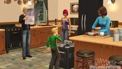 Die Sims 2: Küchen- und Bad-Einrichtungs-Accessoires Screenshot # 3