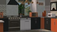 Die Sims 2: Küchen- und Bad-Einrichtungs-Accessoires Screenshot # 7