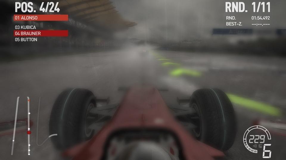 F1 2010 Testbericht – Keine Sicht im Regen