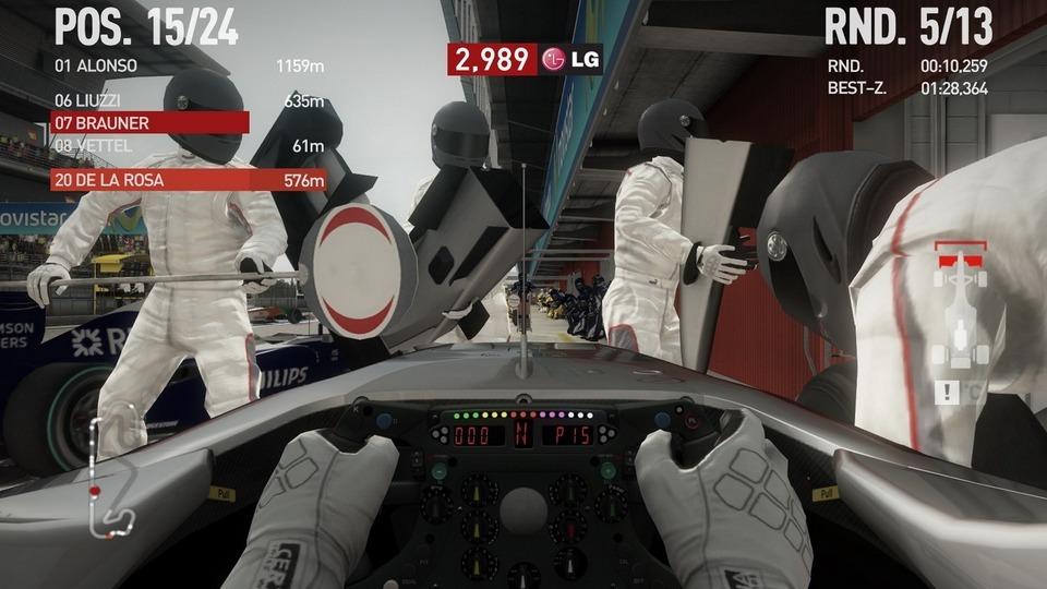 F1 2010 Testbericht – Neue Nase in der Box