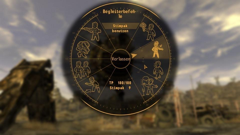 Fallout: New Vegas Testbericht – Befehlssystem