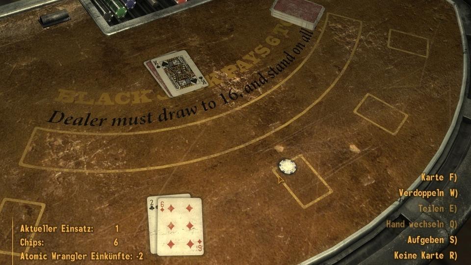 Fallout: New Vegas Testbericht – Black Jack