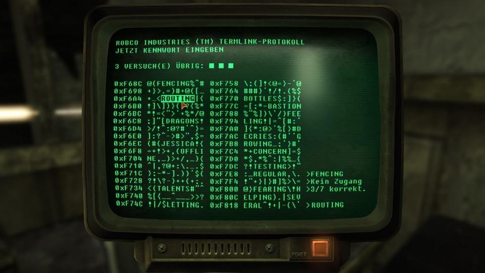 Fallout: New Vegas Testbericht – Hacken