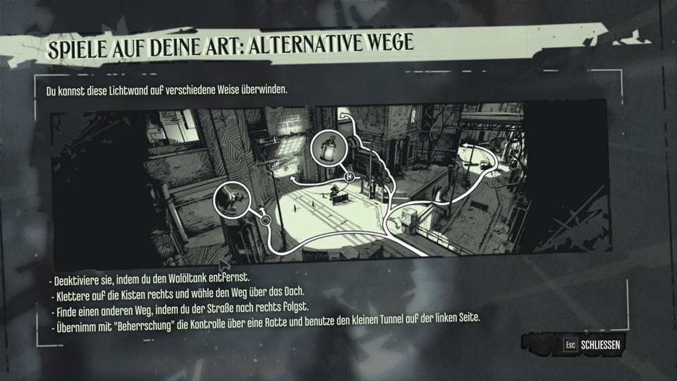 Dishonored – Alternative Wege