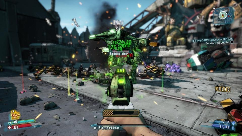 Borderlands 2 – Elementarwaffen