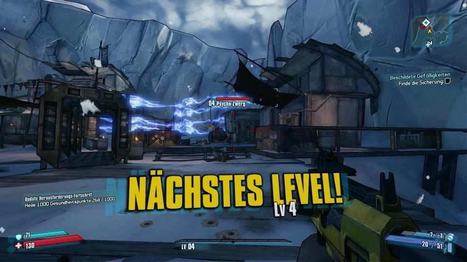Borderlands 2 – Level-System