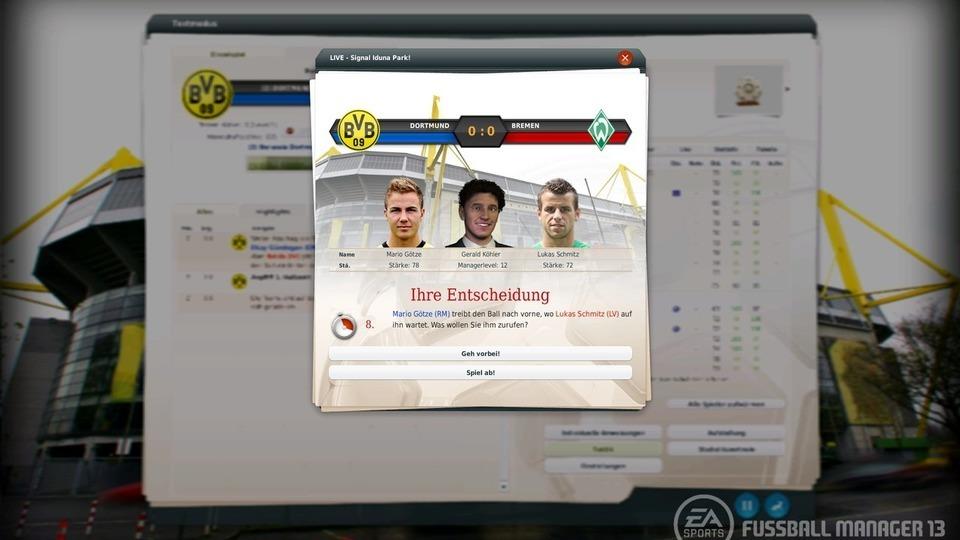 Fussball Manager 13 Elfmeter