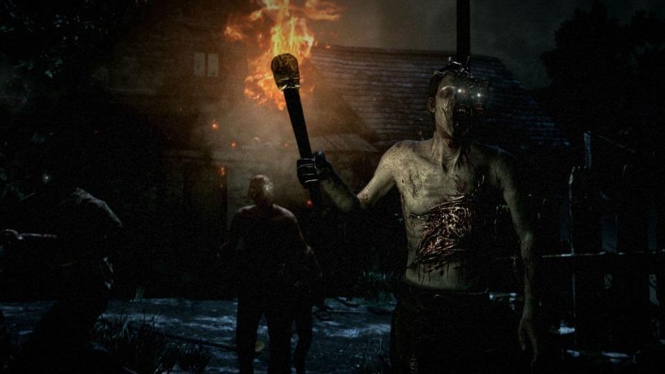 Collage mit den unterschiedlichen Umgebungen des Survival-Horrorspiels Zwei