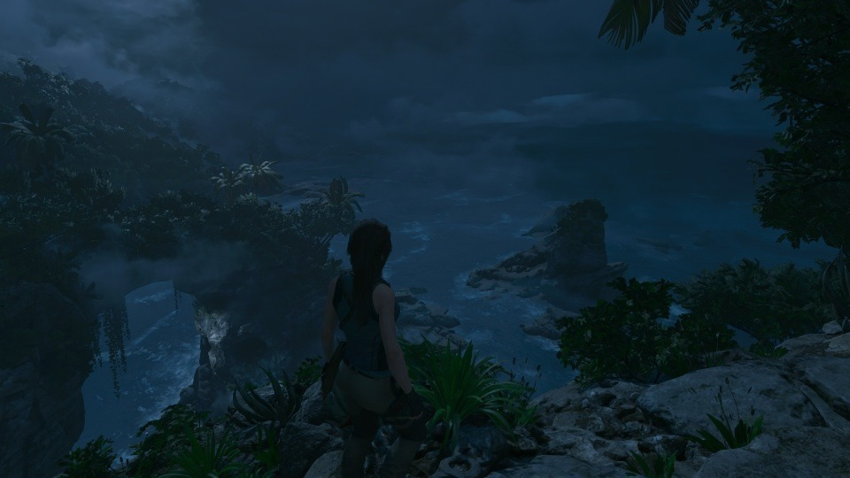 Ein schöner Ausblick auf die Landschaft, ehe diese mit Klettern bewältigt wird.