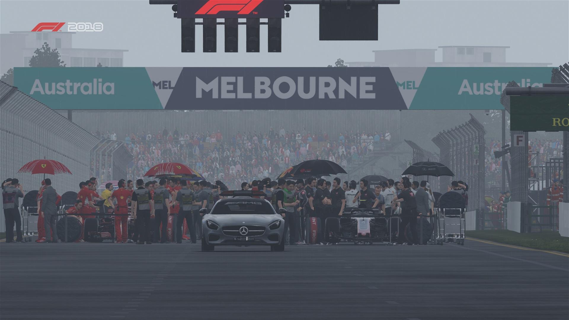 Noch ein paar Szenen, bevor das Rennen beginnt.