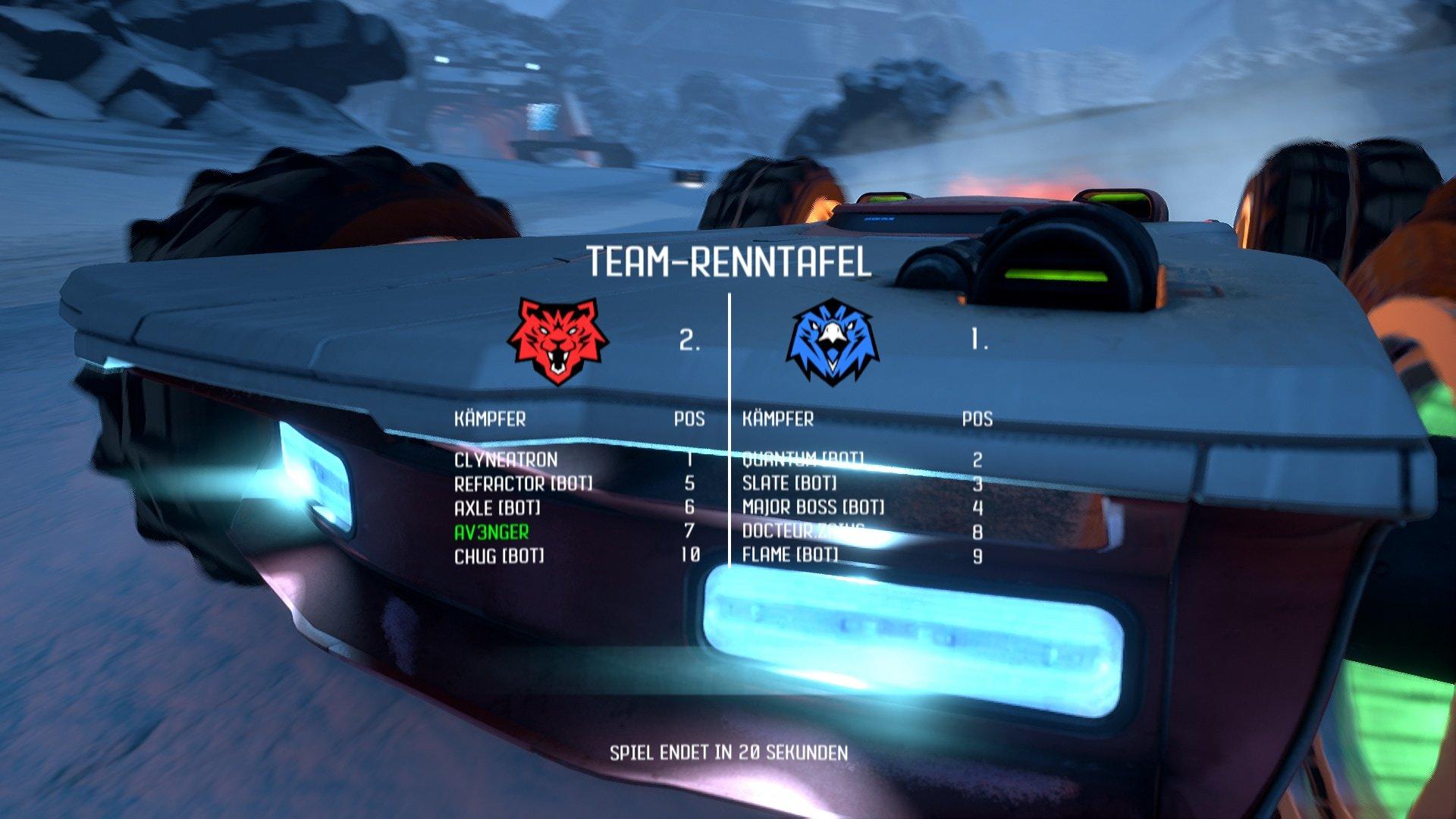 Der neue Team-Modus von GRIP: Combat Racing