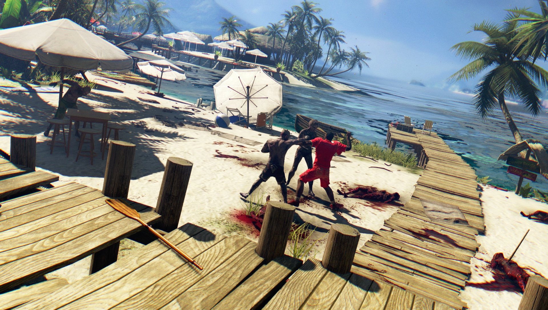 Die Dead Island Defintive Edition bietet im Vergleich zum ursprünglichen Spiel eine deutlich bessere Grafik.