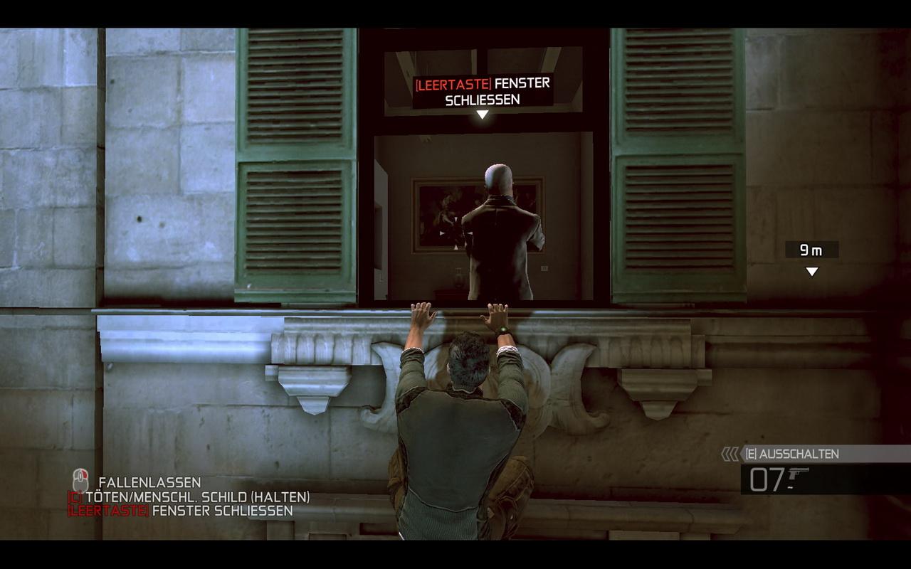 Splinter Cell: Conviction Komplettlösung: Gegner durch das Fenster reißen