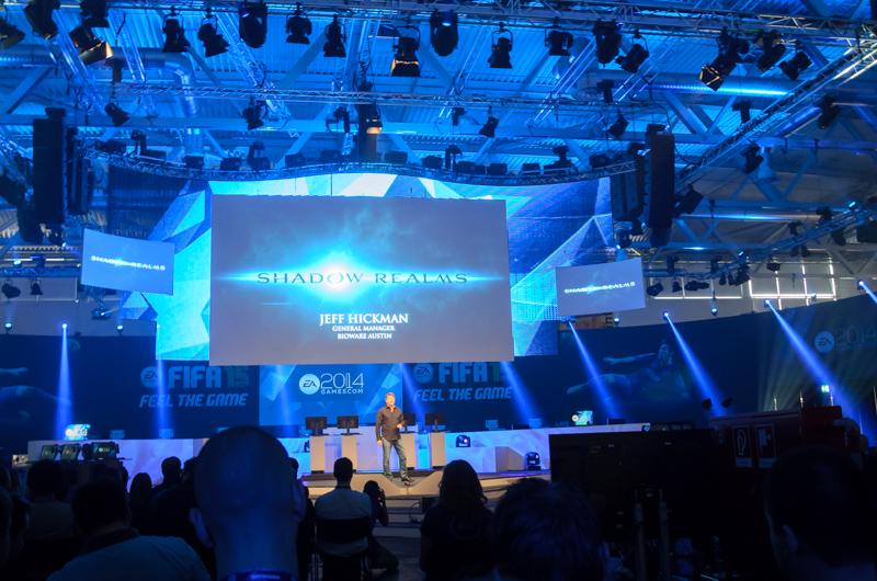 Shadow Realms-Ankündigung auf der EA-Pressekonferenz der gamescom 2014